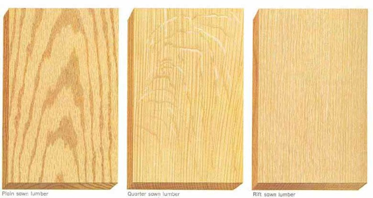 Summitt Forest Products Plain Sawn Vs Quarter Sawn Vs